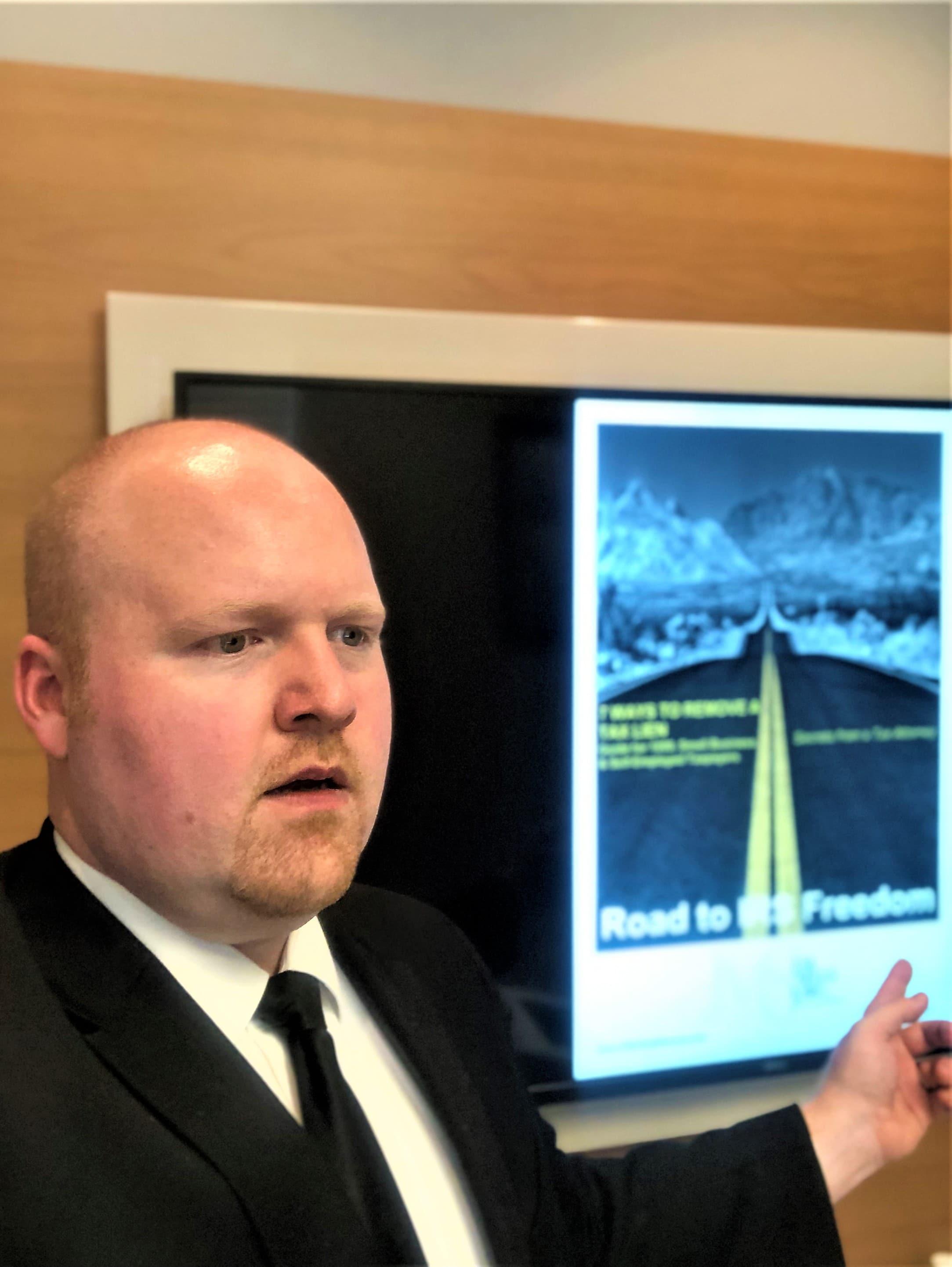 Tax Attorney Joshua Sells Webinar